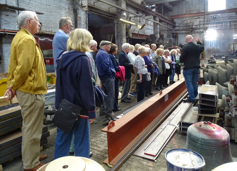 bell foundry visit